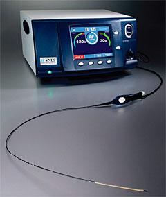 ラジオ波による血管内治療